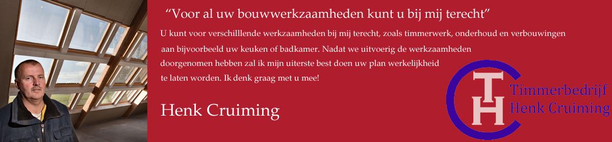 Timmerbedrijf Henk Cruiming